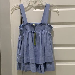 Cute ruffle top. Perfect for summer!